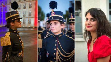 Photo of ახალგაზრდა ქართველი ოფიცერი ქალი საფრანგეთის სამსახურში