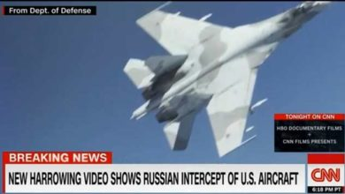 Photo of აშშ-ის ცნობით, რუსულმა SU-27-ებმა შავი ზღვის საჰაერო სივრცეში სახიფათო მანევრი შეასრულეს (ვიდეო)