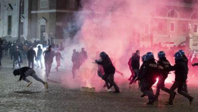 Photo of რომში პოლიციასა და დემონსტრანტებს შორის შეტაკება მოხდა (ვიდეო)
