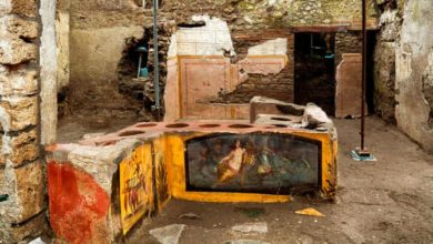 Photo of პომპეიში არქეოლოგიური გათხრებისას ფრესკებით მოხატული ბარის დახლი აღმოაჩინეს (ფოტო/ვიდეო)