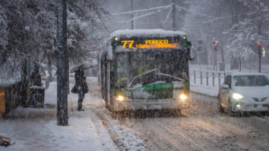 Photo of მილანსა და ლომბარდიაში თოვლიანი დილა გათენდა; გადათეთრდა ვენეციაც (ფოტო/ვიდეო)