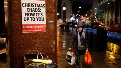 """Photo of """"შობა გაუქმებულია"""" – ლონდონში შეკრების უფლება ოჯახის წევრებსაც არ აქვთ"""
