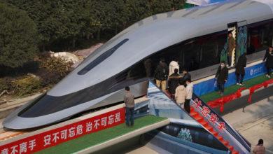 Photo of ჩინეთმა წარადგინა მატარებელი, რომელიც 620 კმ/სთ სიჩქარეს ავითარებს