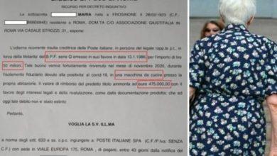 Photo of 98 წლის იტალიელმა ქალმა კოვიდი დაამარცხა და ნახევარ მილიონამდე ევროს ღირებულების ობლიგაცია იპოვა