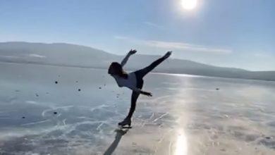 Photo of მკაცრი გაფრთხილება და ულამაზესი ცეკვა გაყინულ ბაზალეთის ტბაზე (ვიდეო)