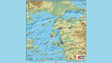 Photo of მიწისძვრა ეგეოსის ზღვაში, საბერძნეთის კუნძულებს შორის
