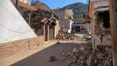 Photo of ძლიერი მიწისძვრა ცენტრალურ საბერძნეთში, არიან დაშავებულები (ვიდეო)