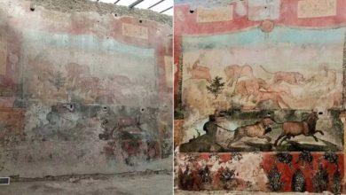 Photo of პომპეიში 2 ათასი წლის წინანდელი უნიკალური ფრესკა აღადგინეს