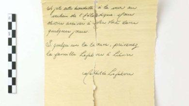 "Photo of გზავნილი ""ტიტანიკიდან"" – მეცნიერები იკვლევენ ბოთლში დახუფულ წერილს, რომელიც ზღვამ გამორიყა"