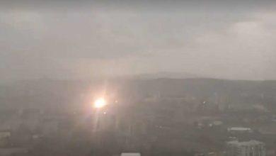 Photo of თბილისში მეხი ჩამოვარდა (ვიდეო)