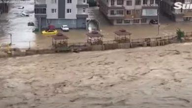 Photo of დამანგრეველი სტიქია საქართველოს საზღვართან – თურქეთში წყალდიდობას ებრძვიან, არიან გარდაცვლილები (ვიდეო)