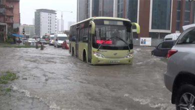 Photo of ძლიერი წვიმის გამო ბათუმი დაიტბორა
