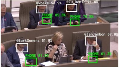 Photo of შეიქმნა ინსტრუმენტი, რომელიც სხდომებსა თუ შეხვედრებზე პოლიტიკოსების მიერ მობილური ტელეფონების გამოყენების დროს ითვლის