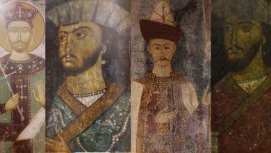 Photo of საყურიანი წინაპრები ქართული ტაძრების ფრესკებზე