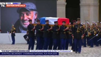 Photo of პარიზში ჟან-პოლ ბელმონდოს ხსოვნის პატივსაცემად სამგლოვიარო ცერემონია გაიმართა (ვიდეო)