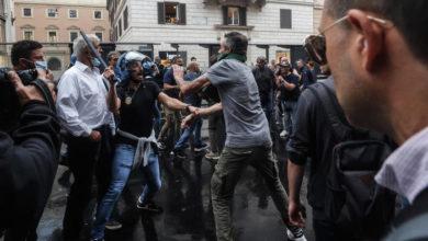 Photo of რომში ანტივაქსერების აქციაზე პოლიციასთან შეტაკებებში მონაწილე 12 ადამიანი დააკავეს (ვიდეო)