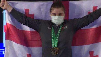 Photo of 16 წლის ძალოსანი ნათია გადელია მსოფლიო ჩემპიონი გახდა