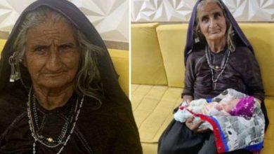 Photo of ინდოელი ქალი ამტკიცებს, რომ პირველი შვილი 70 წლის ასაკში გააჩინა